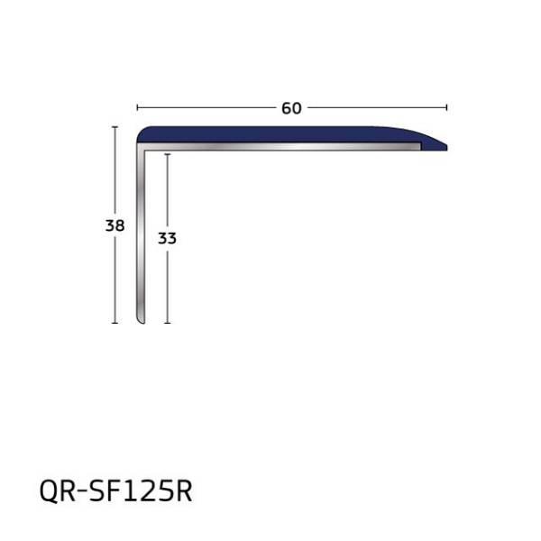 Q Range – Aluminium Stair Nosing/ Stair Edging for Concrete and No Floorcovering