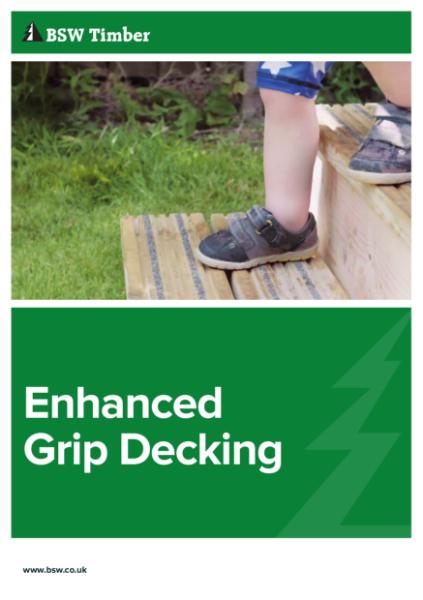 Enhanced Grip Decking