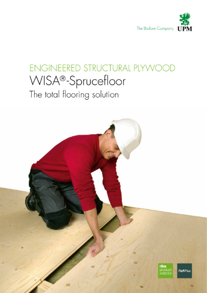 Plywood - WISA Sprucefloor