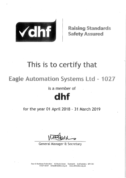 DHF Membership