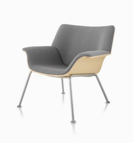 Swoop Plywood Lounge Chair