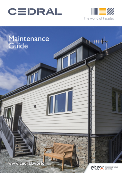 Cedral Facades Maintenance Guide