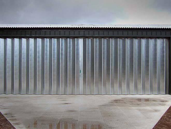 Industrial Door Horizontal Folding C Door