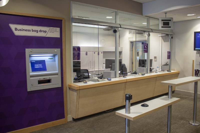 Counter and Screen Upgrade at a Nationwide Bank in Camden