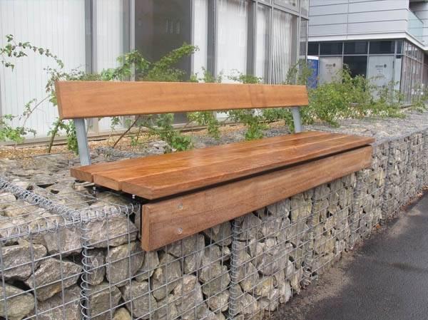 Lapa Gabion Seating Platform