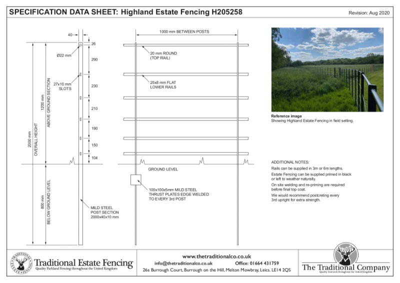Highland Estate Fencing