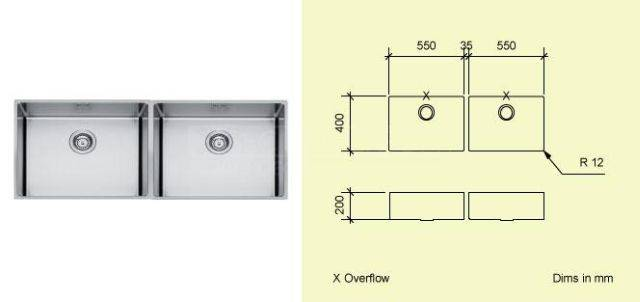 Sink Bowl AD55