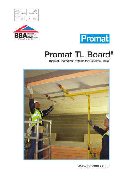 Promat TL Board® - Impact Resistant