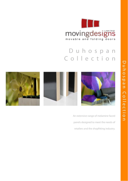 Moving Designs Duhospan Colour Collection