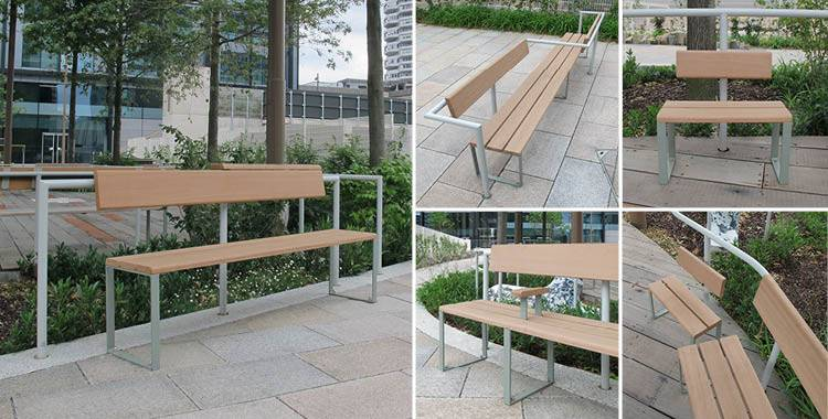 Unique seating for urban development
