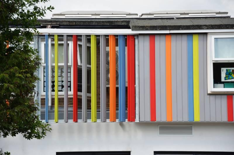 Accoya cladding for West Lodge Primary School, UK