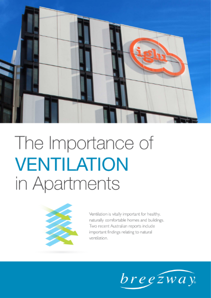 White Paper - The importance of Ventilation in Apartments