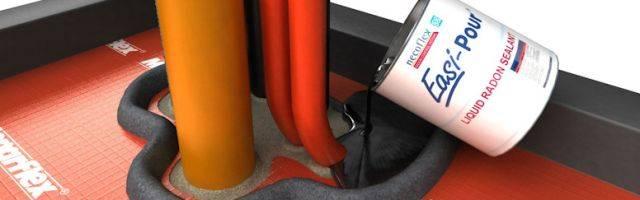 Easi-Pour™ Liquid Radon Sealant
