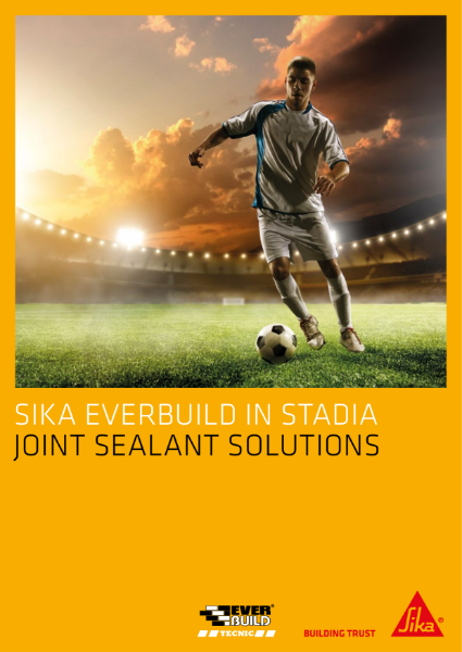 Sika Joint Sealing Solutions in Stadia