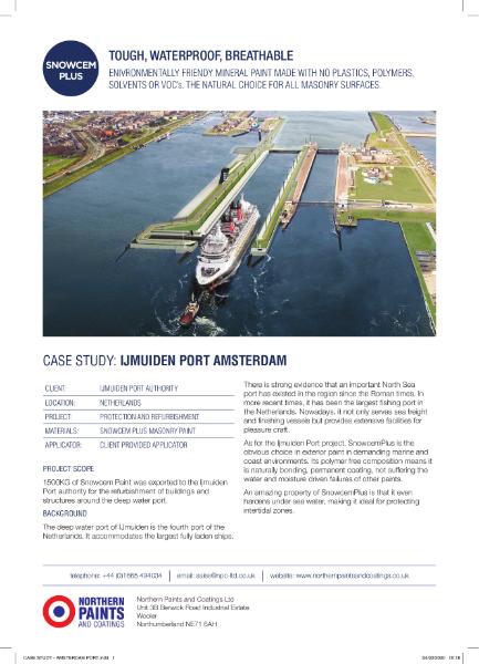 Marine Environment - Case Study