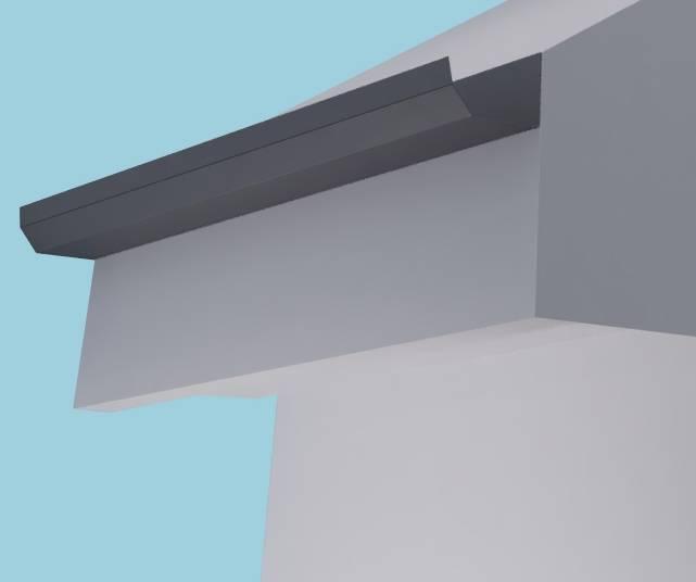 Dales Domestic Aluminium Gutter
