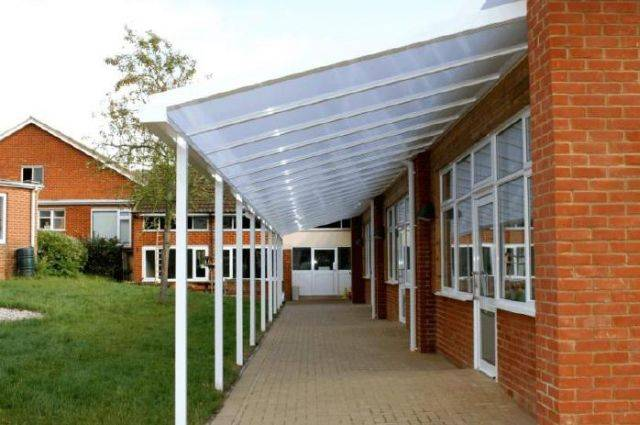 Coniston Wall Mounted Canopy – Includes Internal and External Corners