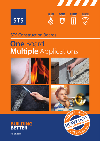 STS Construction Boards - 1 Board  Multiple Applications