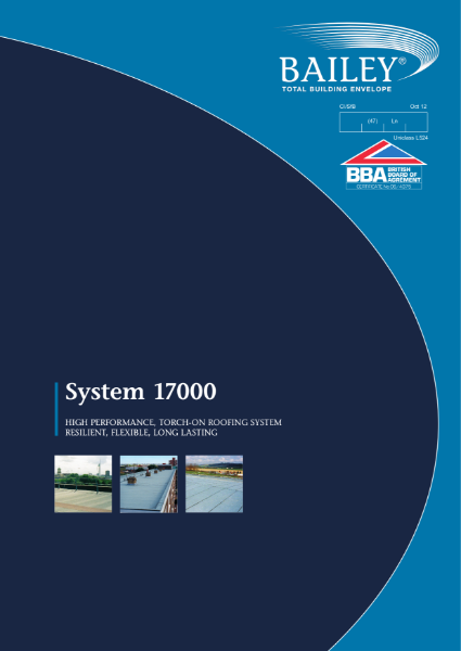 System 17000: High performance, Torch-on Roofing System, Resilient, Flexible, Long lasting