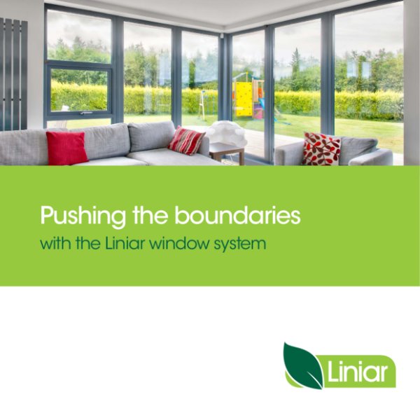 Liniar 70mm PVCu window system including casement, flush sash, tilt and turn,  reversible, french, bi-fold, bay and bow, passive house, passivhaus