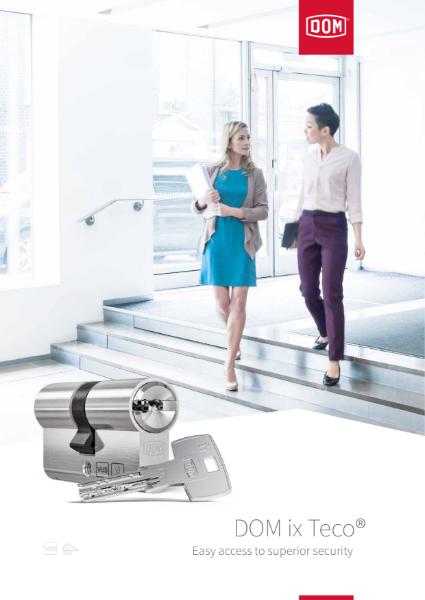 DOM ix Teco Reversible Mechanical Locking System