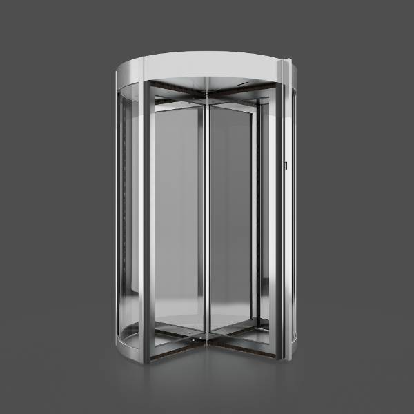 Tourlock 180 + 90 4-wing - Revolving door