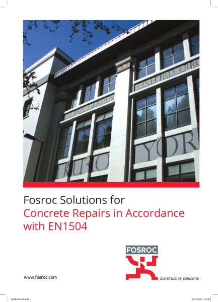 Concrete Repairs in Accordance with EN1504