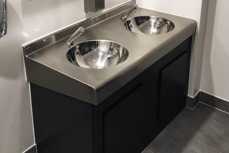 Franke chosen for major transport washroom renovation