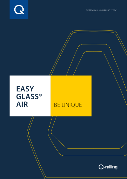 Easy glass Air brochure