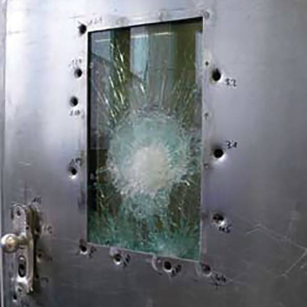 Bullet-Proof Security Steel Door