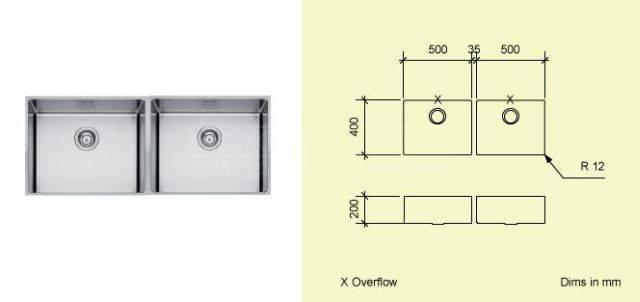 Sink Bowl AD50