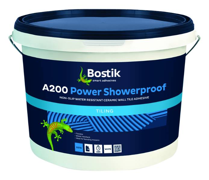 Bostik A200 Power Showerproof Tiling Adhesive