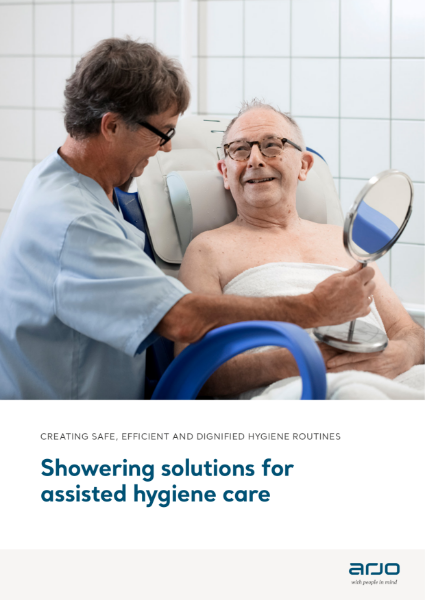 Showering Solutions for Assisted Hygiene Care - Carino, Carendo and Carevo