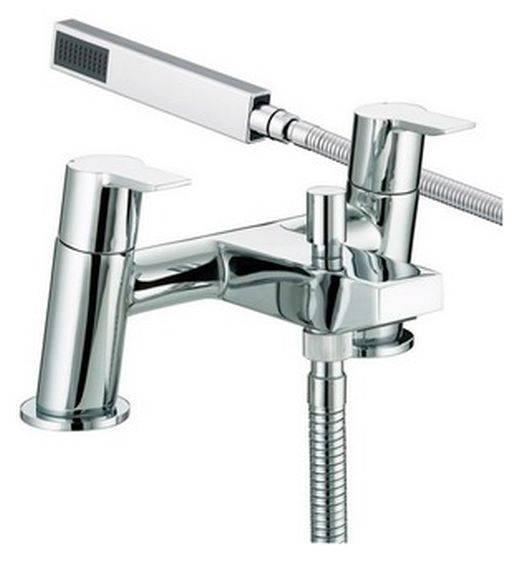 PS BSM C - Pisa Bath Shower Mixer Chrome