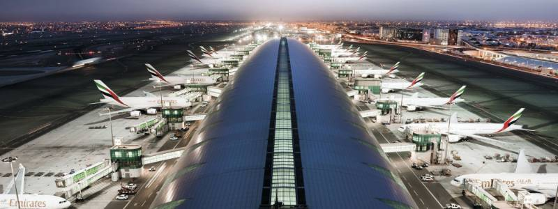 Qatar Premium Lounge - Dubai Airport