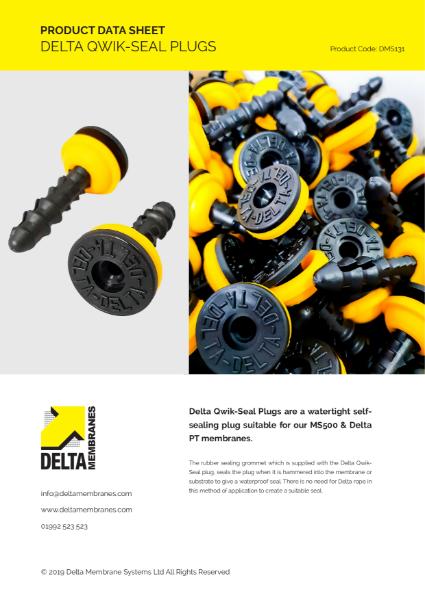 Delta Qwik-Seal Plug Product Data Sheet