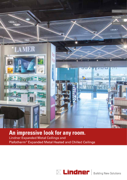 Lindner Expanded Metal Ceilings and Plafotherm® Expanded Metal Heated and Chilled Ceilings.pdf