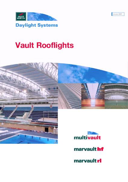 Barrel Vault Rooflights