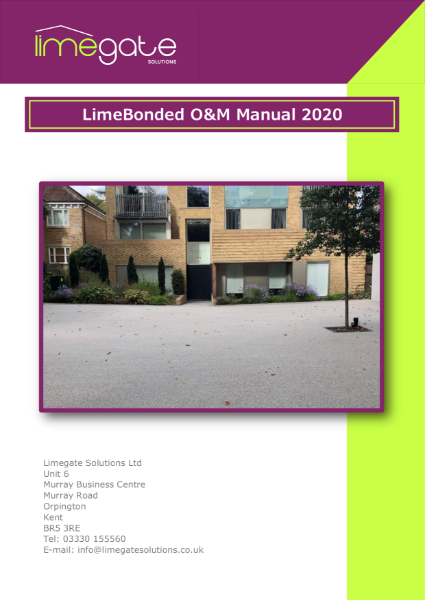 LimeBonded O&M Manual