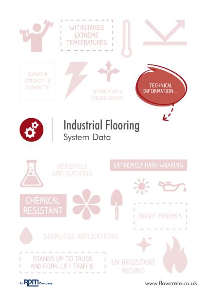 Industrial & Flowchem Flooring Product Data