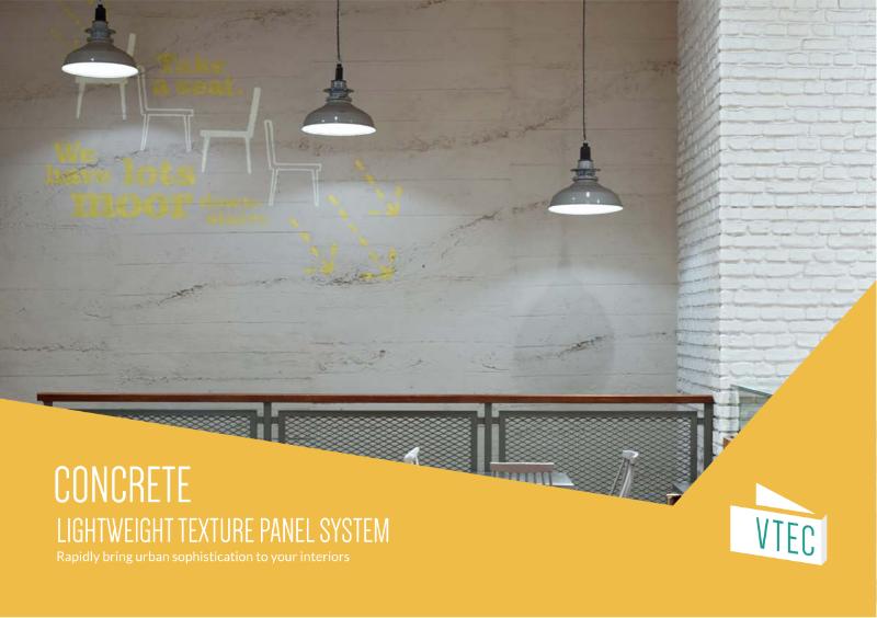 Concrete Panels - Texture Wall Panel System - Brochure