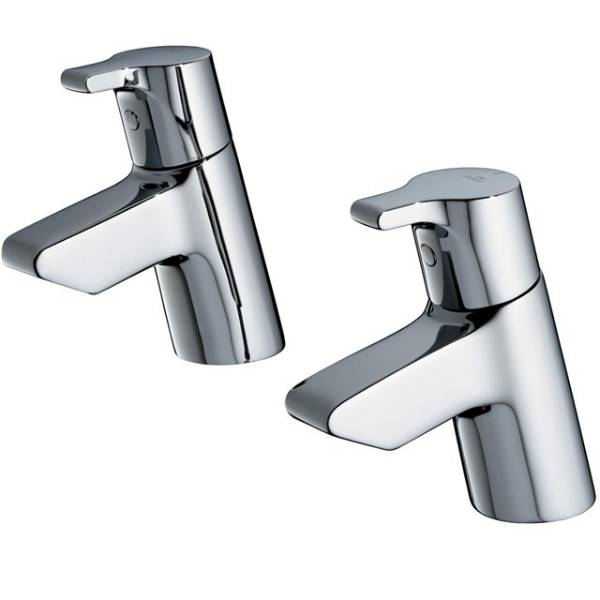 Active Bath Pillar Taps