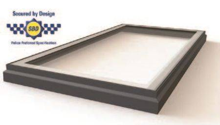 RG-80-20 Protect+ Fixed Flat Glass Single Pane Rooflight