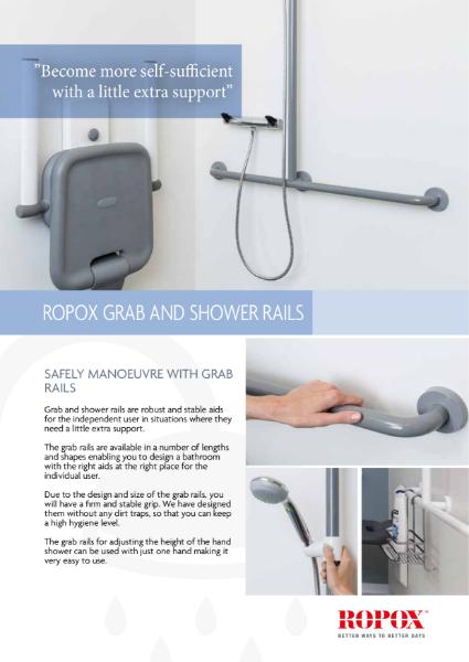 Ropox Shower rails