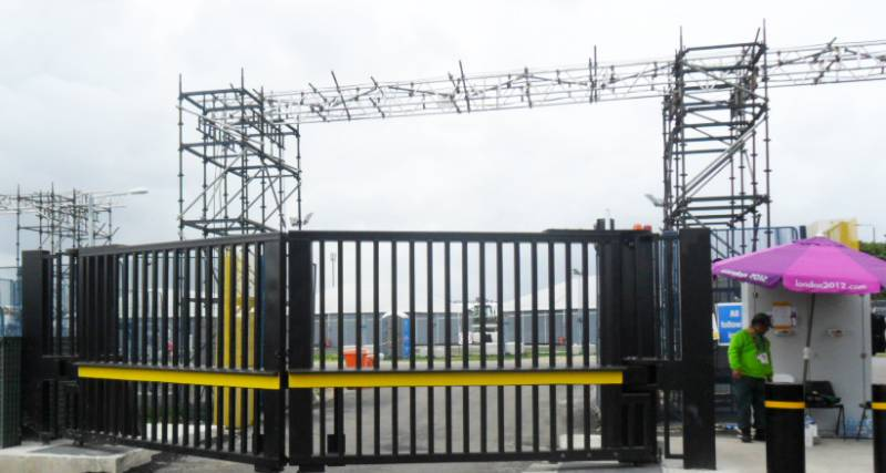 Frontier Pitts are pleased to announce that they have received official supplier designation by the British Olympic Association for Suppliers of Security Barriers, Blockers and Gates to the London 201