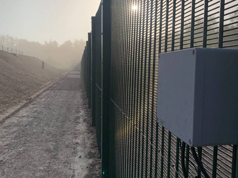 PERIMETER SECURITY FOR WATER TREATMENT WORKS
