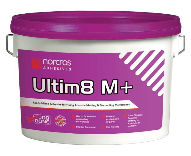 Ultim8 M+ Adhesive for Matting Systems