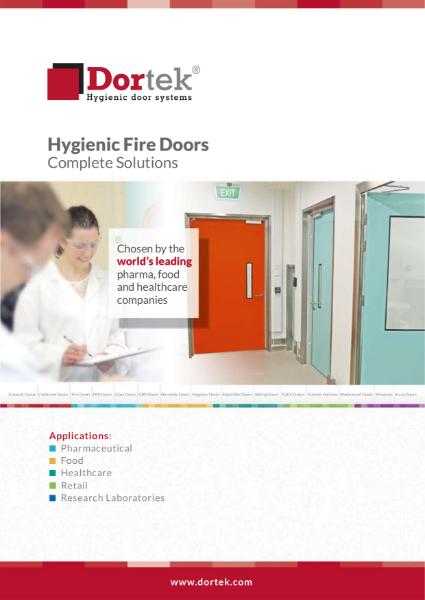 9. Hygienic GRP Fire Doors