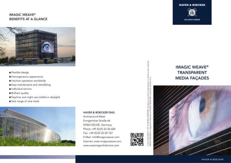 IMAGIC WEAVE Transparent Medial Facade