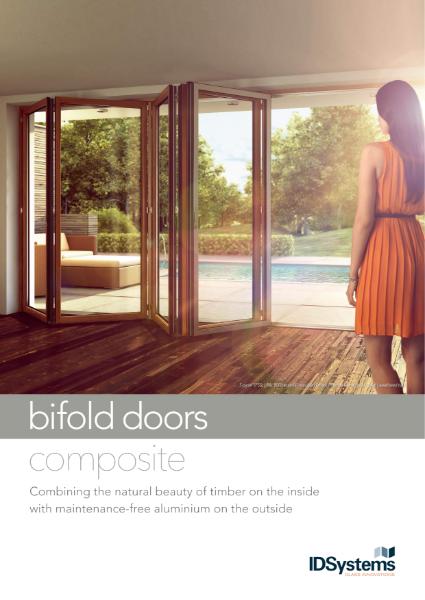 IDSystems timber-clad aluminium bifold doors